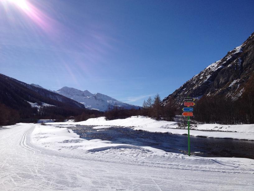 Les Edelweiss : Ski de fond