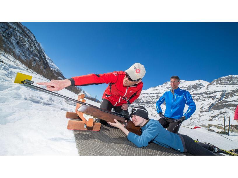 Les Edelweiss : Biathlon